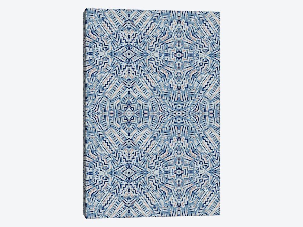 Clandestine Blue by Jacqueline Maldonado 1-piece Canvas Art