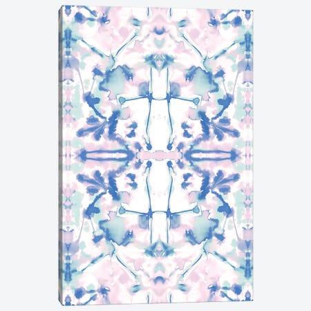 Transformation Pink Blue Canvas Print #JMO176} by Jacqueline Maldonado Canvas Print