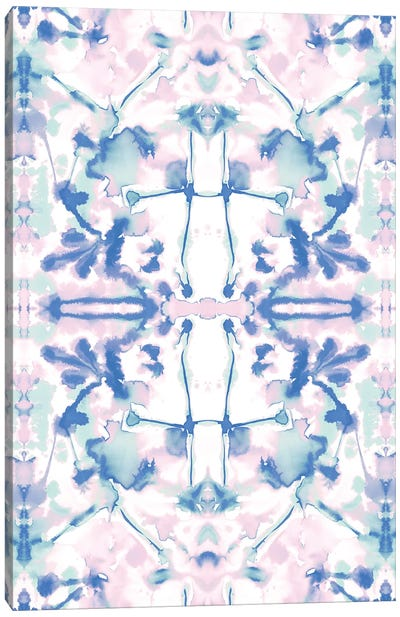 Transformation Pink Blue Canvas Art Print