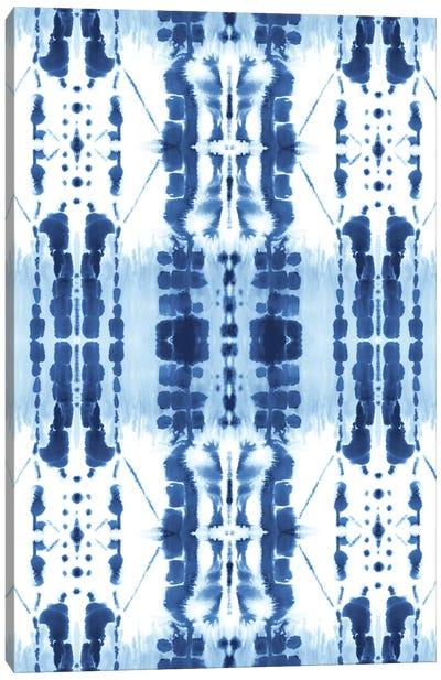 Paradigm Blue Canvas Art Print