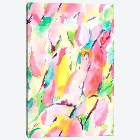 Synesthete Spring Canvas Print #JMO18} by Jacqueline Maldonado Art Print