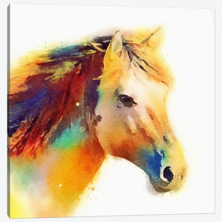 The Spirited Canvas Print #JMO26} by Jacqueline Maldonado Art Print