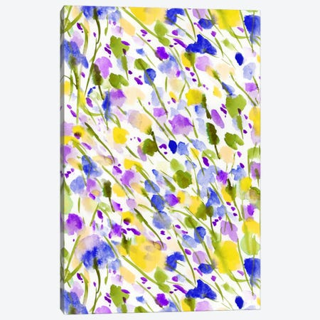 Wild Nature Yellow Canvas Print #JMO35} by Jacqueline Maldonado Canvas Wall Art
