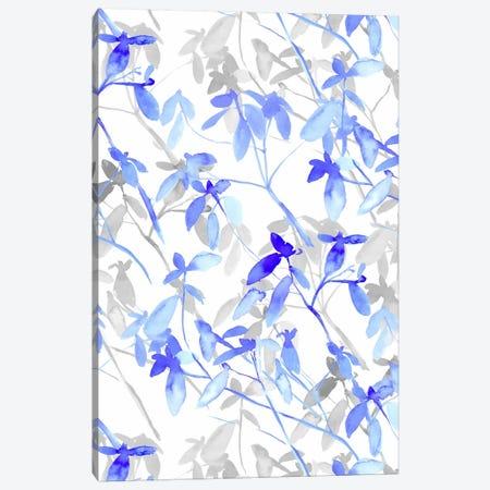 Premonition Blue Canvas Print #JMO3} by Jacqueline Maldonado Canvas Art Print