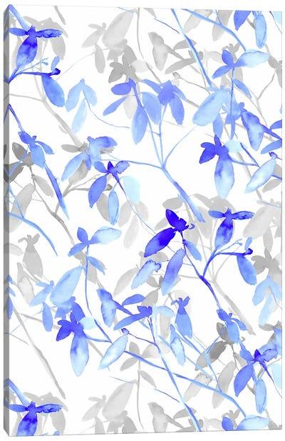Premonition Blue Canvas Art Print