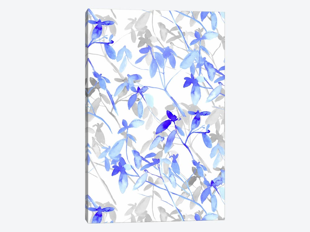 Premonition Blue by Jacqueline Maldonado 1-piece Canvas Print