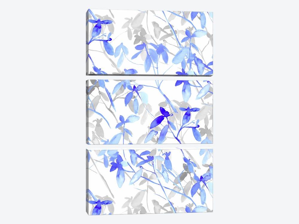 Premonition Blue by Jacqueline Maldonado 3-piece Art Print