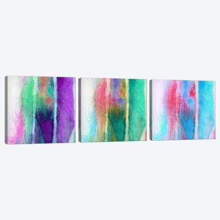 Skein Triptych Canvas Print Set #JMO3HSET001} by Jacqueline Maldonado Canvas Artwork