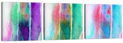 Skein Triptych Canvas Art Print