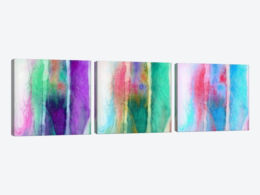 Skein Triptych by Jacqueline Maldonado 3-piece Canvas Artwork