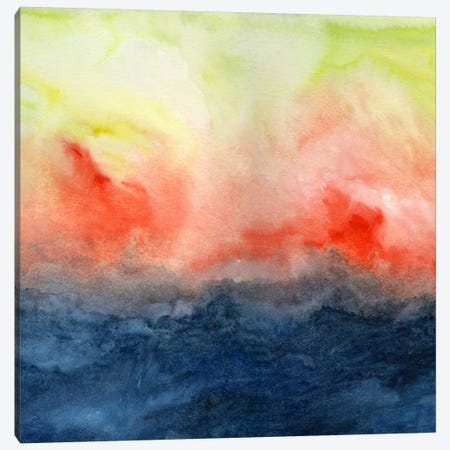 Brush Fire Canvas Print #JMO44} by Jacqueline Maldonado Art Print