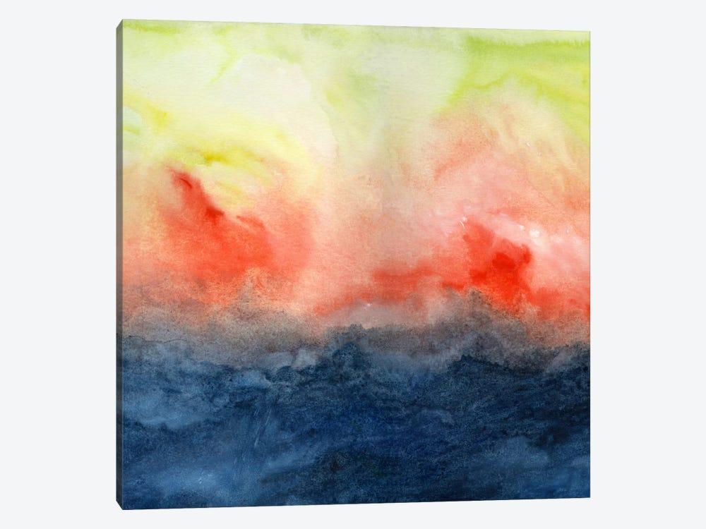 Brush Fire by Jacqueline Maldonado 1-piece Canvas Art