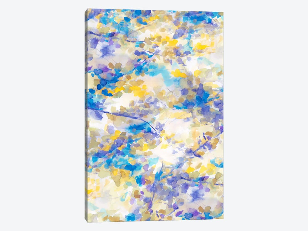 Canopy Blue 1-piece Canvas Art Print