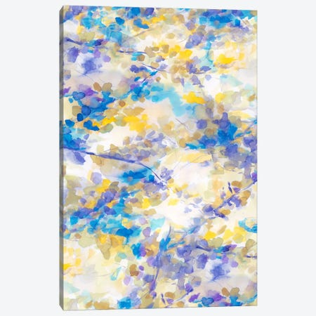 Canopy Blue Canvas Print #JMO45} by Jacqueline Maldonado Canvas Print