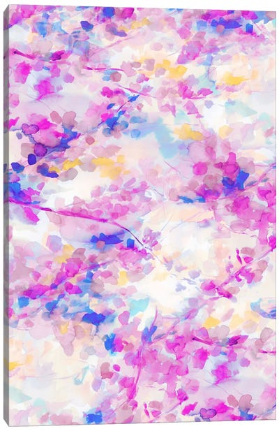 Canopy Magenta Canvas Art Print