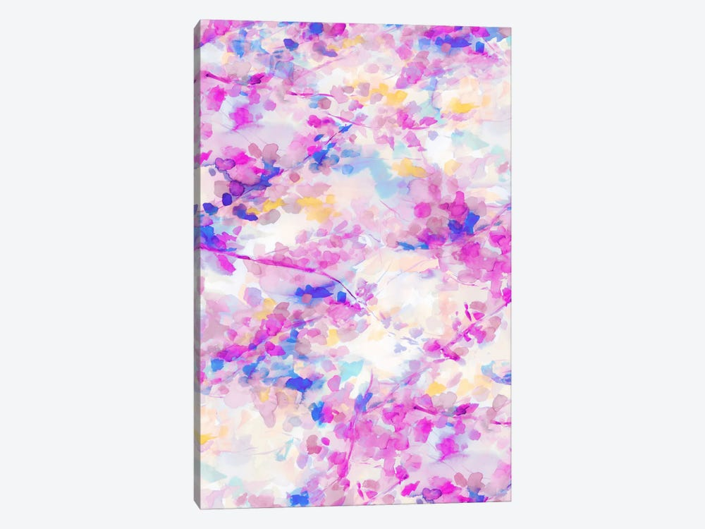Canopy Magenta 1-piece Canvas Art Print