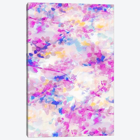 Canopy Magenta Canvas Print #JMO47} by Jacqueline Maldonado Canvas Print