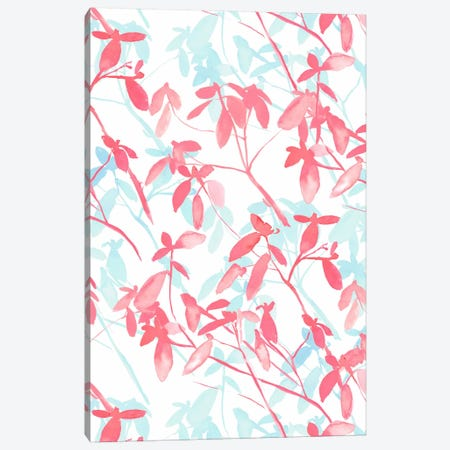 Premonition Coral Canvas Print #JMO4} by Jacqueline Maldonado Canvas Artwork