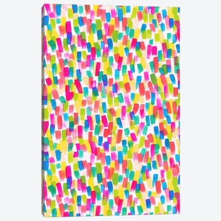 Color Joy Canvas Print #JMO53} by Jacqueline Maldonado Canvas Print