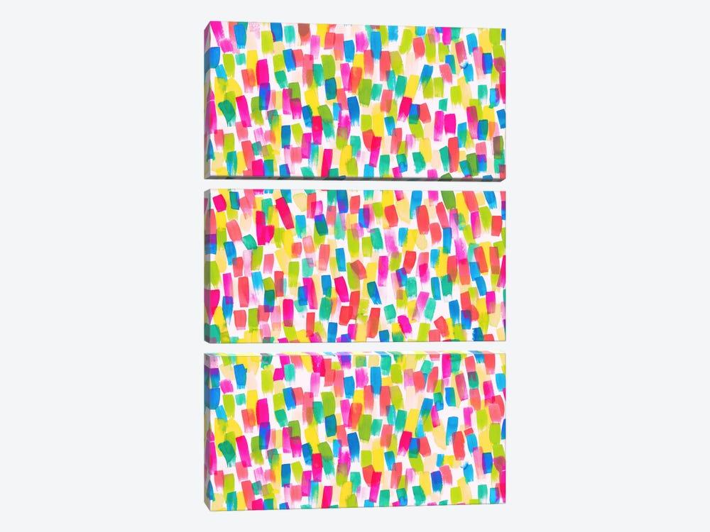 Color Joy by Jacqueline Maldonado 3-piece Canvas Artwork