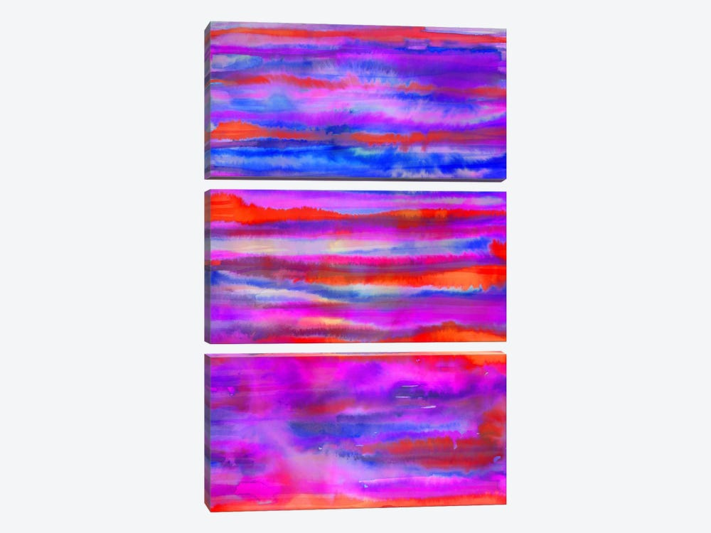 Fire Inside by Jacqueline Maldonado 3-piece Canvas Art