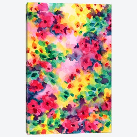 Flourish I Canvas Print #JMO63} by Jacqueline Maldonado Canvas Art