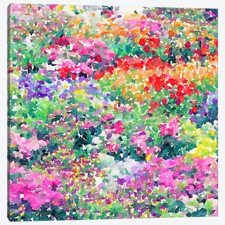 Secret Garden Canvas Print #JMO6} by Jacqueline Maldonado Canvas Artwork