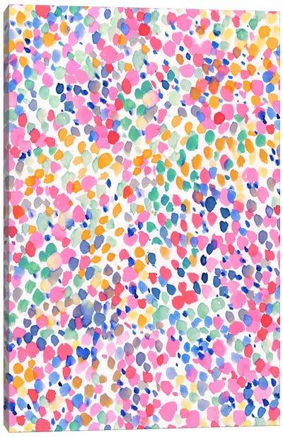 Lighthearted Pastel Canvas Art Print