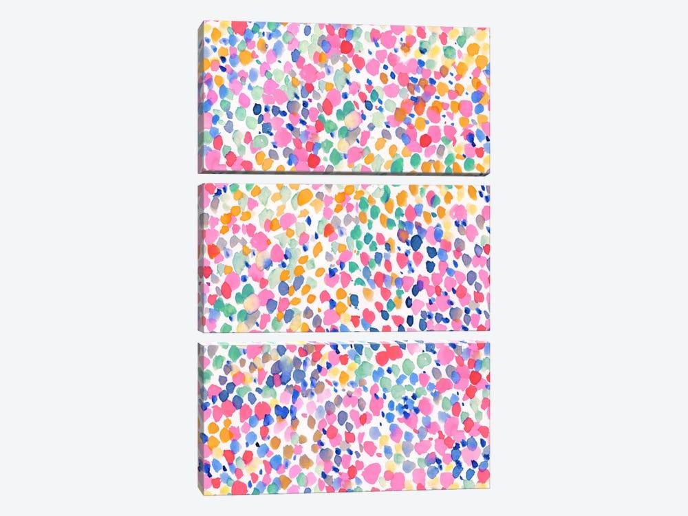 Lighthearted Pastel by Jacqueline Maldonado 3-piece Canvas Artwork