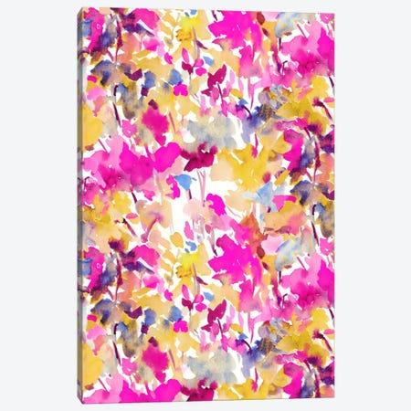 Local Color Pink Yellow Canvas Print #JMO74} by Jacqueline Maldonado Canvas Artwork