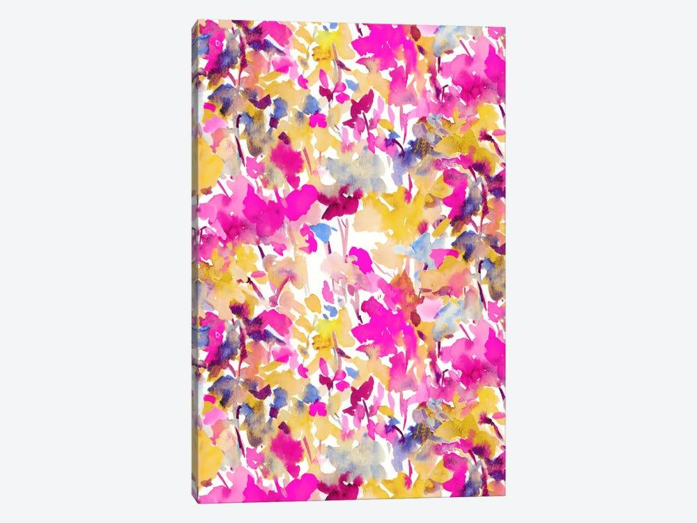 Local Color Pink Yellow by Jacqueline Maldonado 1-piece Canvas Art Print