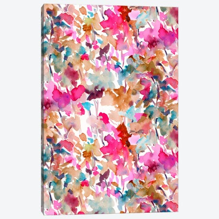 Local Color Pink Canvas Print #JMO75} by Jacqueline Maldonado Canvas Artwork