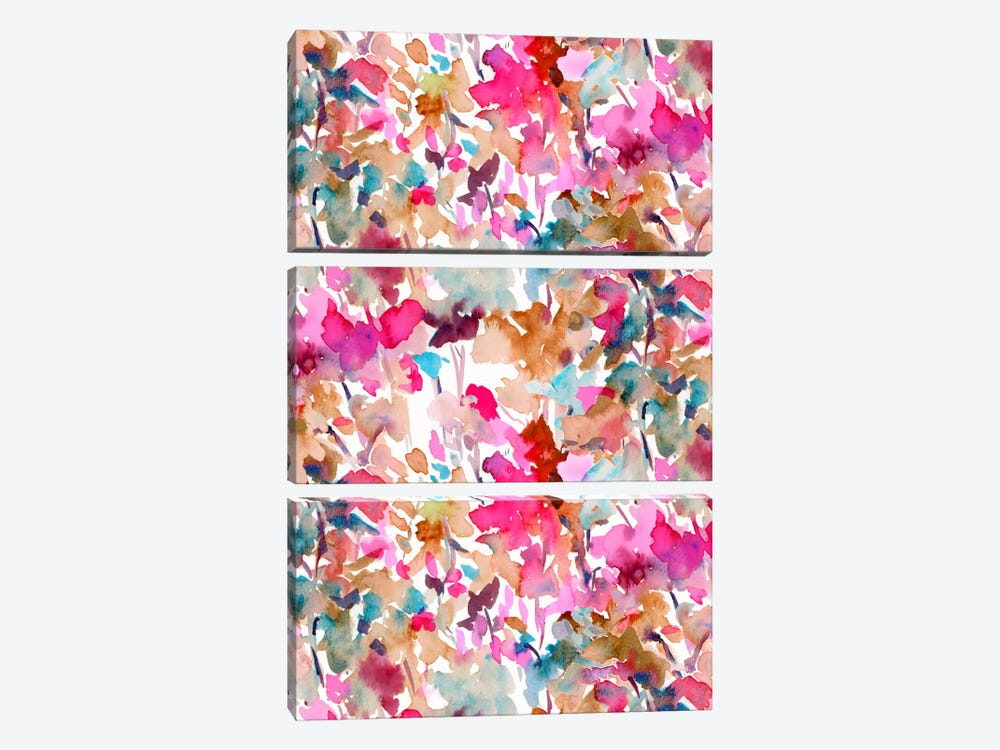 Local Color Pink 3-piece Canvas Artwork