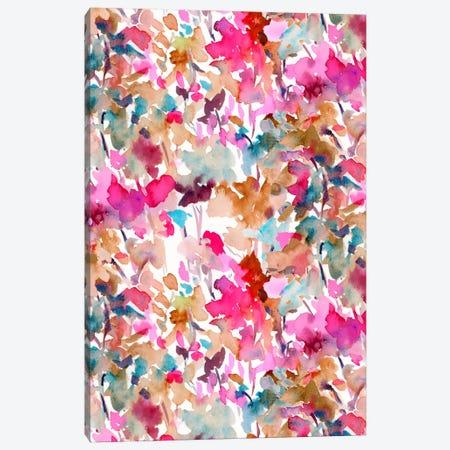 Local Color Pink Canvas Print #JMO75} by Jacqueline Maldonado Canvas Artwork