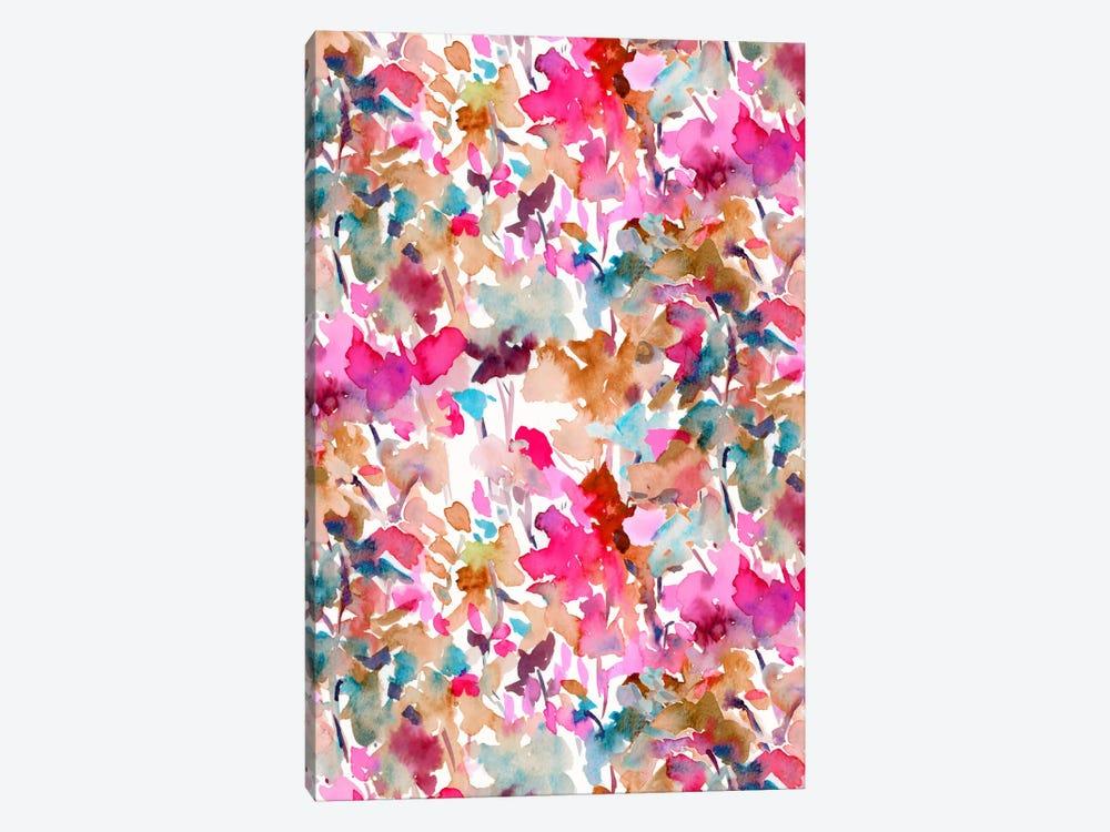 Local Color Pink by Jacqueline Maldonado 1-piece Canvas Art