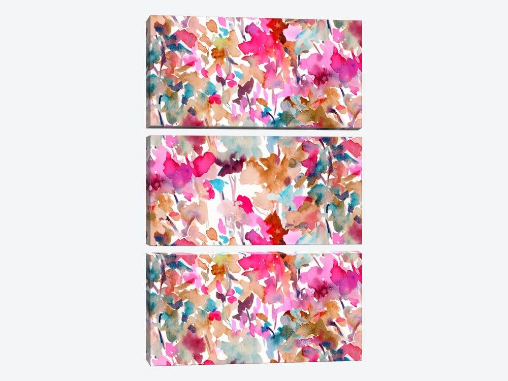 Local Color Pink by Jacqueline Maldonado 3-piece Canvas Artwork