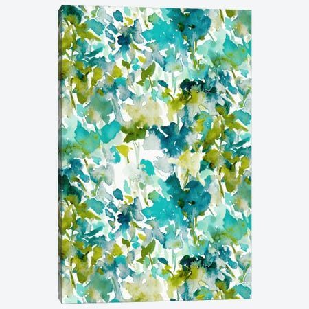 Local Colortealprint Canvas Print #JMO77} by Jacqueline Maldonado Canvas Artwork