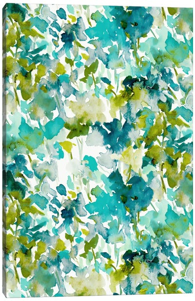 Local Colortealprint Canvas Art Print