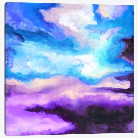 Noche Azul Canvas Print #JMO79} by Jacqueline Maldonado Canvas Art Print