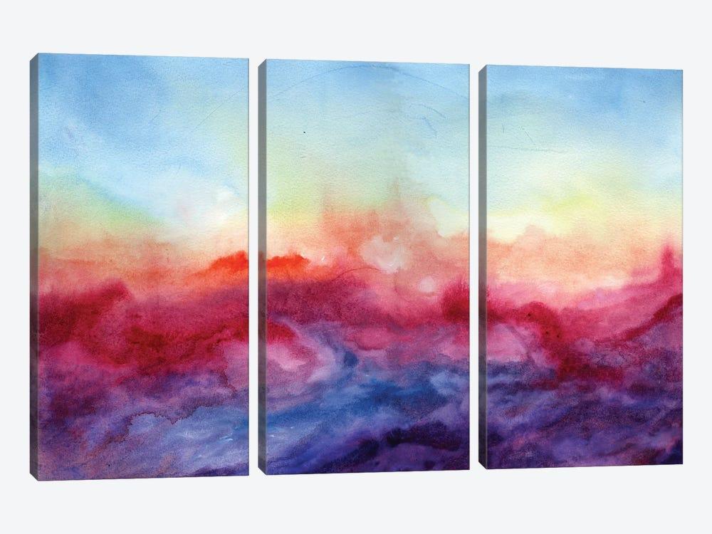 Arpeggi by Jacqueline Maldonado 3-piece Art Print