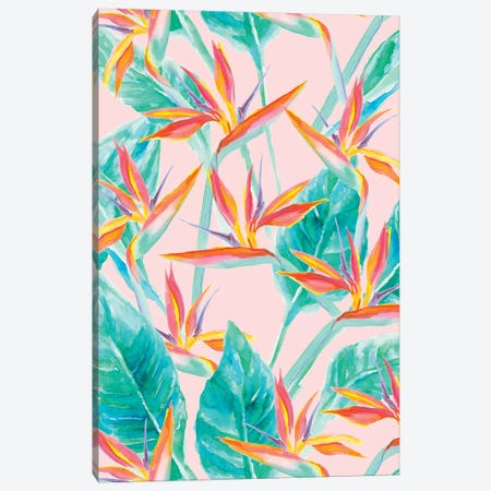 Birds Of Paradise Canvas Print #JMO82} by Jacqueline Maldonado Canvas Wall Art