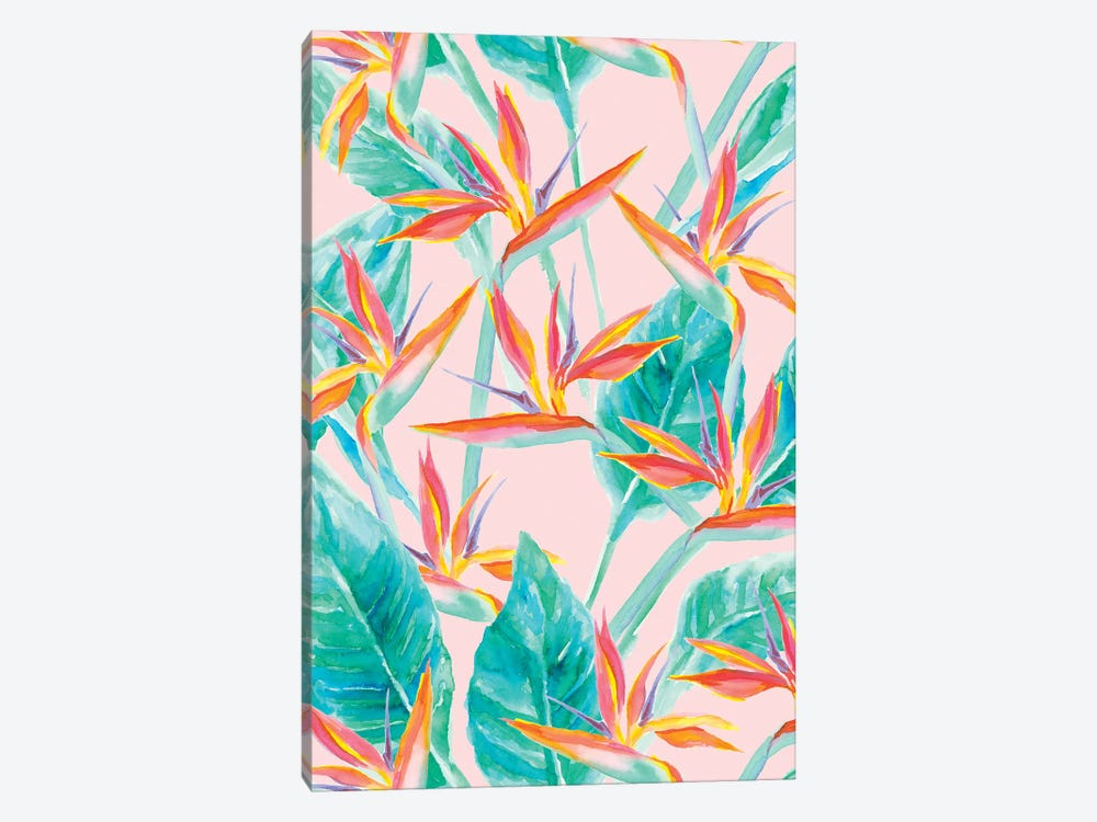Birds Of Paradise 1-piece Canvas Artwork