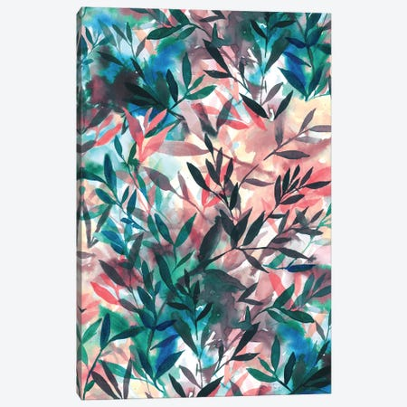 Changes Coral Canvas Print #JMO83} by Jacqueline Maldonado Canvas Wall Art