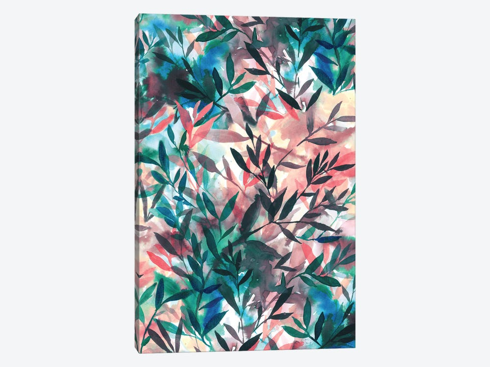 Changes Coral by Jacqueline Maldonado 1-piece Canvas Print