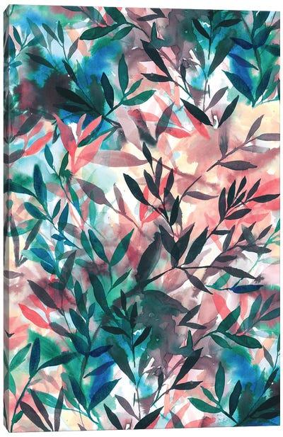 Changes Coral Canvas Art Print