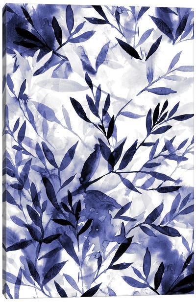 Changes Indigo Canvas Art Print