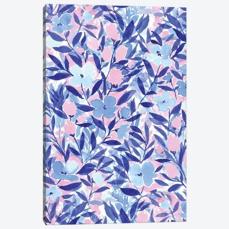 Non-Chalant Blue Canvas Print #JMO93} by Jacqueline Maldonado Canvas Print