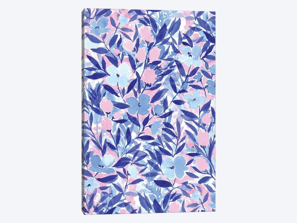 Non-Chalant Blue by Jacqueline Maldonado 1-piece Canvas Wall Art