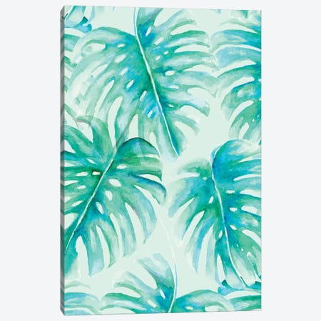 Paradise Palms Canvas Print #JMO96} by Jacqueline Maldonado Canvas Artwork