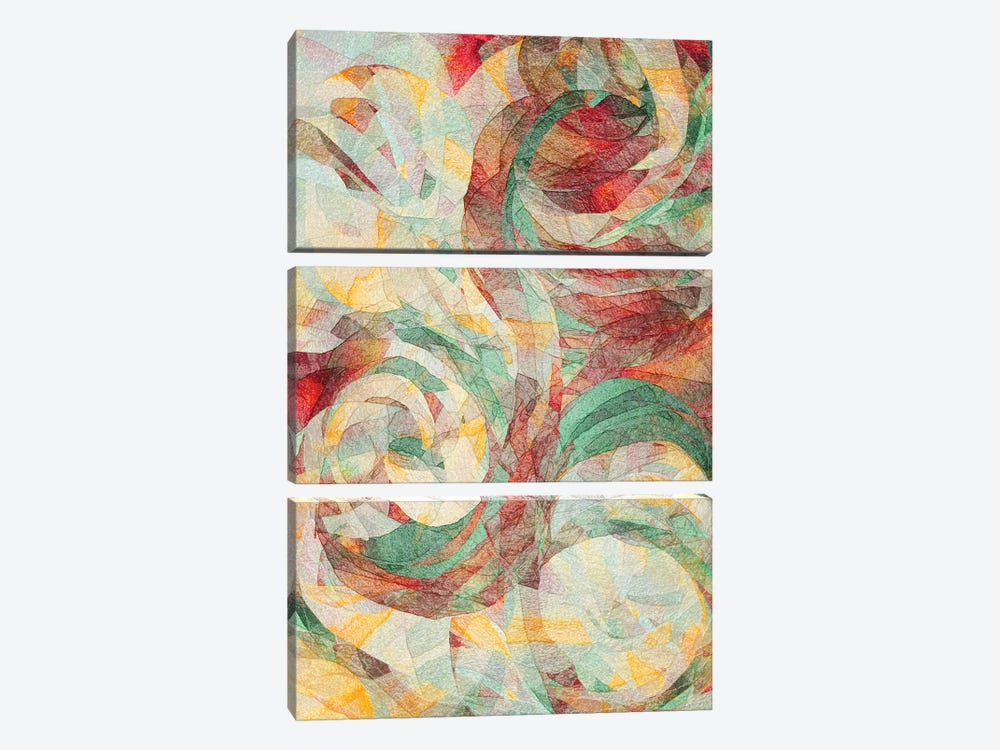 Rapt by Jacqueline Maldonado 3-piece Canvas Print